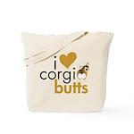 I Heart Corgi Butts - Sable Tote Bag
