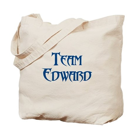 TEAM EDWARD SHIRT MY HEART BE Tote Bag