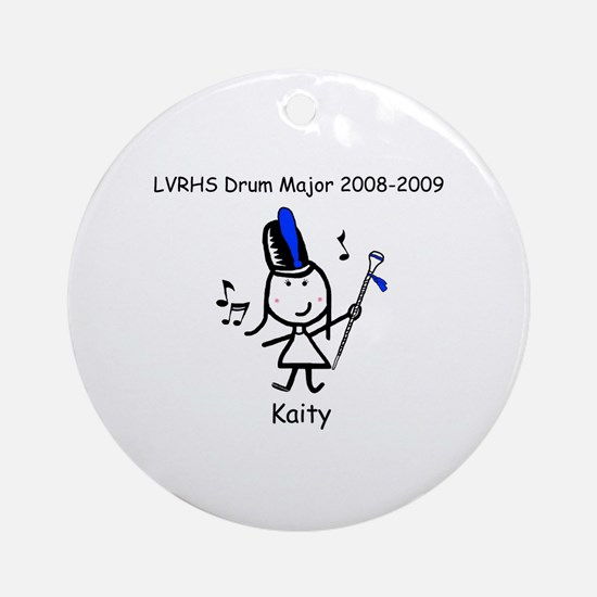 Drum Major - Kaity Ornament (Round)