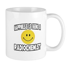 """Happiness...Radiochemist"" Mug"