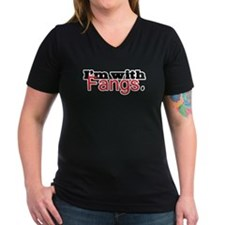 Twilight I'm with Fangs Shirt