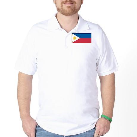 Philippines Flag Golf Shirt