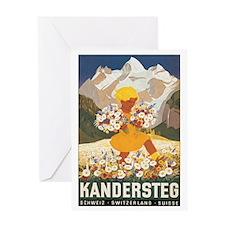 Kandersteg Switzerland Greeting Card