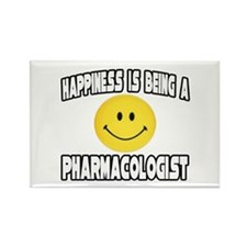 """Happiness...Pharmacologist"" Rectangle Magnet"