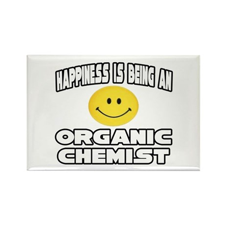 """Happiness..Organic Chemist"" Rectangle Magnet"