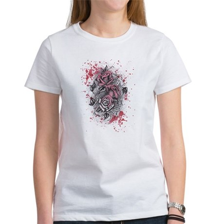 Painted Roses Women's T-Shirt