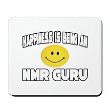 """""""Happiness...NMR Guru"""" Mousepad"""