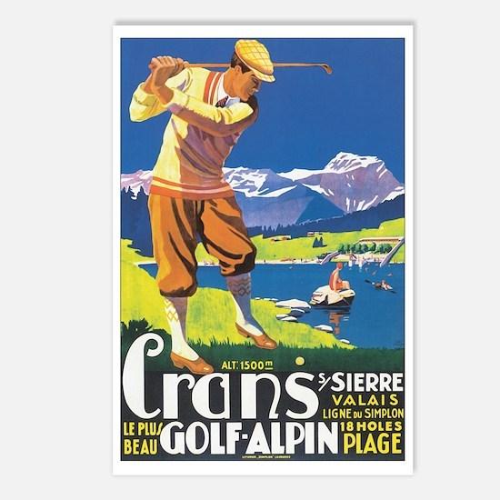 Sierre Switzerland Postcards (Package of 8)