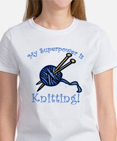 My Superpower is Knitting Tee
