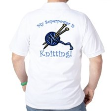 My Superpower is Knitting T-Shirt