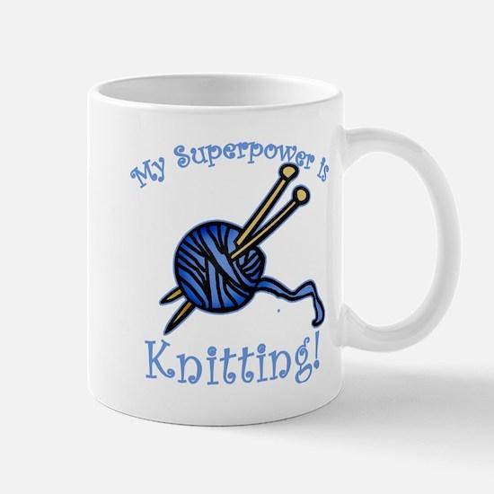 My Superpower is Knitting Mug