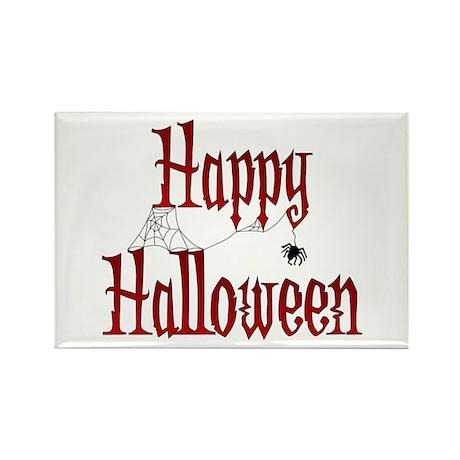 Happy Halloween Rectangle Magnet (100 pack)