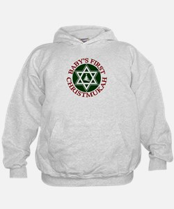 BABY'S FIRST CHRISTMUKAH SHIR Hoodie