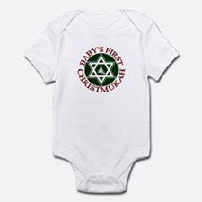 BABY'S FIRST CHRISTMUKAH SHIR Infant Bodysuit