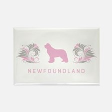 """Elegant"" Newfoundland Rectangle Magnet"