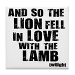 Twilight Movie Quote Tile Coaster