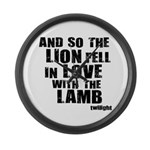 Twilight Movie Quote Large Wall Clock