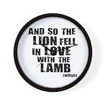 Twilight Movie Quote Wall Clock