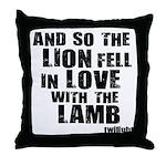 Twilight Movie Quote Throw Pillow