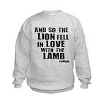 Twilight Movie Quote Kids Sweatshirt