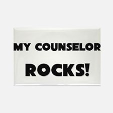 MY Counselor ROCKS! Rectangle Magnet