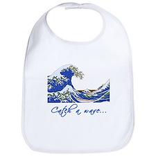 Catch a Wave Ocean Bib