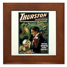 Framed Tile Thurston the magician