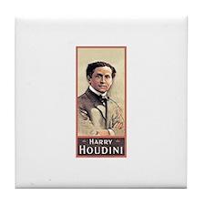 Tile Coaster Harry Houdini magician