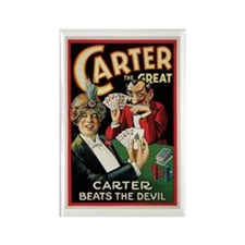 Rectangle Magnet Carter the great