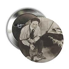 "2.25"" Button Harry Houdini magic hand cuffs"
