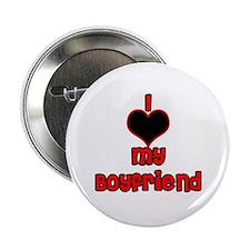 """I *heart* my boyfriend2.25"""" Button"""