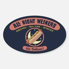 All Night Weiners Decal