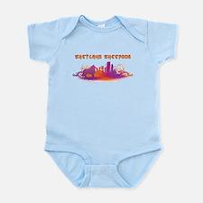 """""""City"""" Shetland Sheepdog Infant Bodysuit"""