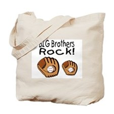Big Brothers Rock Tote Bag