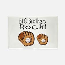 Big Brothers Rock Rectangle Magnet