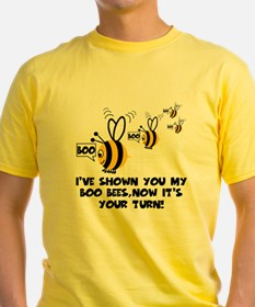 Funny slogan boo Bees T