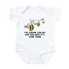 Funny slogan boo Bees Infant Bodysuit