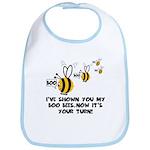 Funny slogan boo Bees Bib