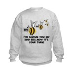 Funny slogan boo Bees Kids Sweatshirt