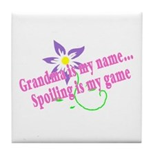 Grandma Is My Name, Spoiling Is My Game Tile Coast