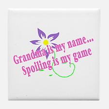 Grandma Is My Name, Spoiling Is My Game Tile Coast