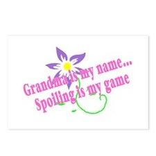 Grandma Is My Name, Spoiling Is My Game Postcards