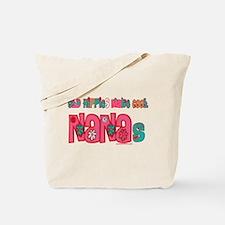 Old Hippie Nana Tote Bag