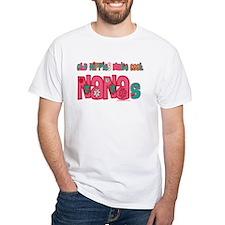 Old Hippie Nana Shirt