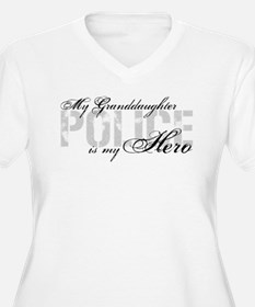 My Granddaughter is My Hero - POLICE T-Shirt
