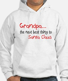 Grandpa, The Next Best Thing To Santa Claus Hoodie
