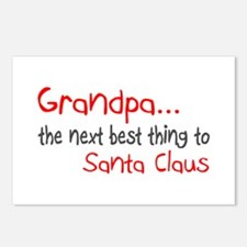 Grandpa, The Next Best Thing To Santa Claus Postca