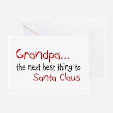 Grandpa, The Next Best Thing To Santa Claus Greeti