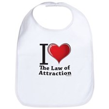 Love the Law of Attraction Bib