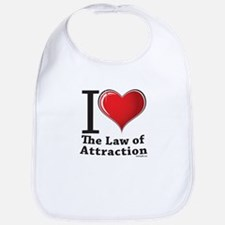 Love the Law of Attraction Bib